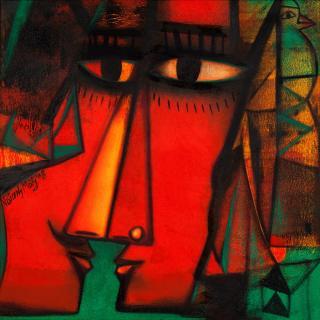 Manjit Bawa Paintings For Sale