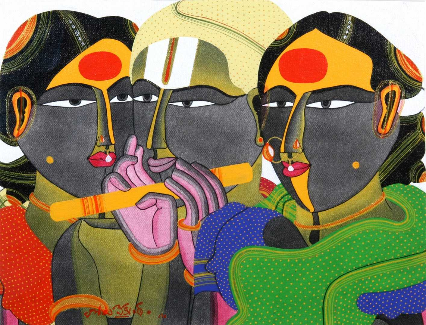 Manjit Bawa Paintings For Sale